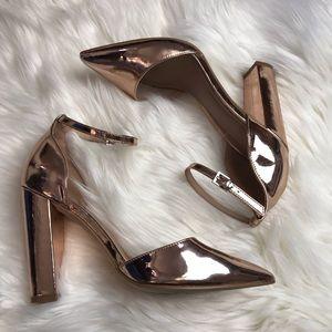ASOS Metallic Heels